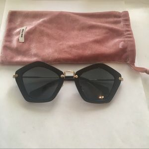 2b60cec3b8b Miu Miu Accessories - Miu miu 100% attentive sunglasses
